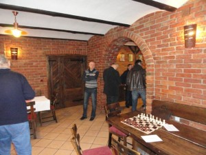 Priprema za šah - Pregrada